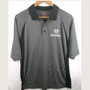 Jagermeister Golf Polo Bowling Black XL